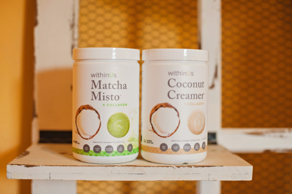 Enjoy the combined health benefits of organic grade A matcha, withinUs Trumarine Collagen, and naturally sweet organic coconut milk.  Matcha misto is an antioxidant powerhouse, an organic source of MCTs, and provides a natural, stable energy boost. The high concentration of specific amino acids helps with the formation of collagen within the body, promoting healthy hair, skin, nails and joints.